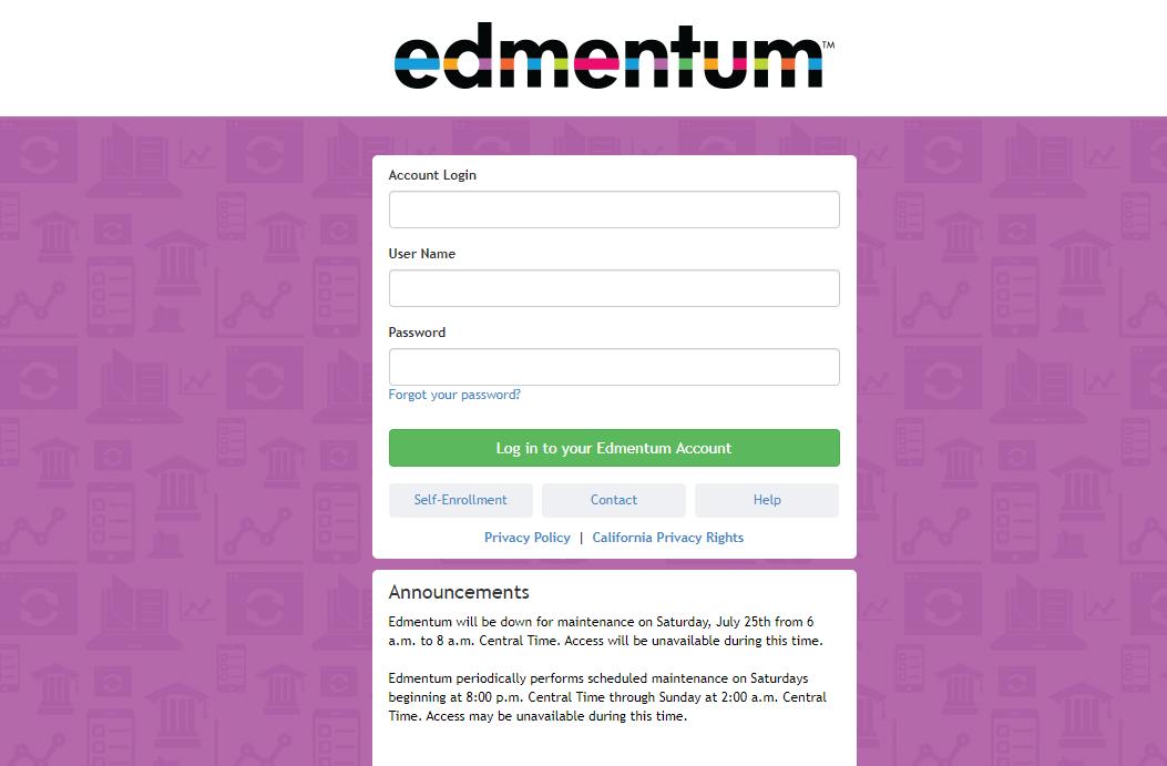 Edmentum Learning Environment Login