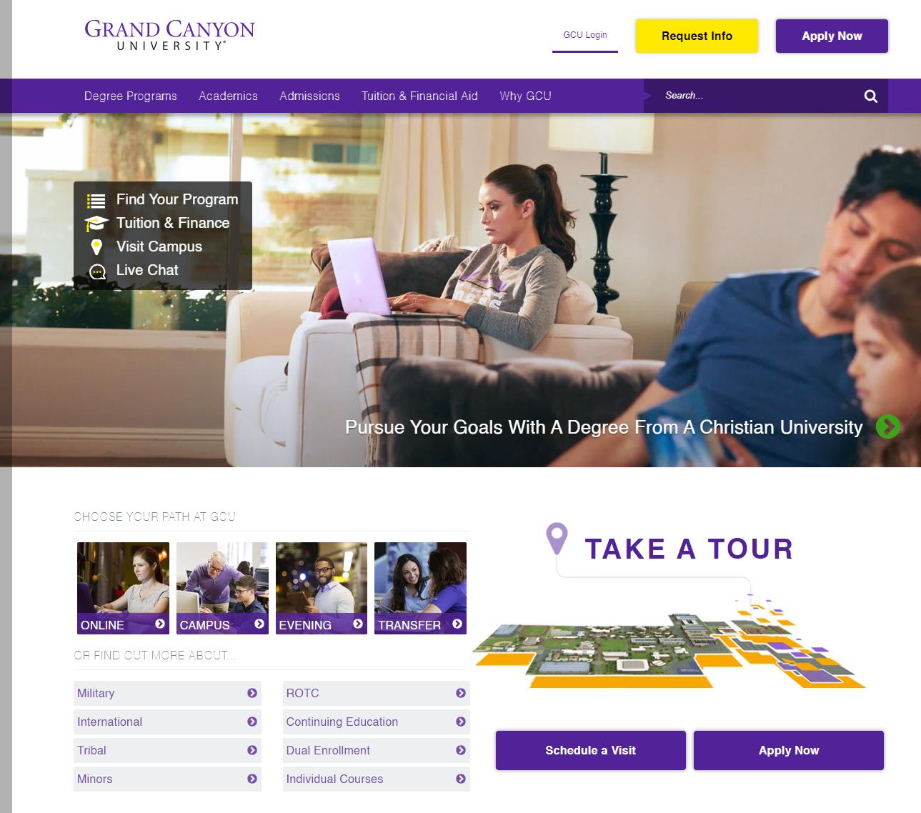Grand Canyon University Student Portal