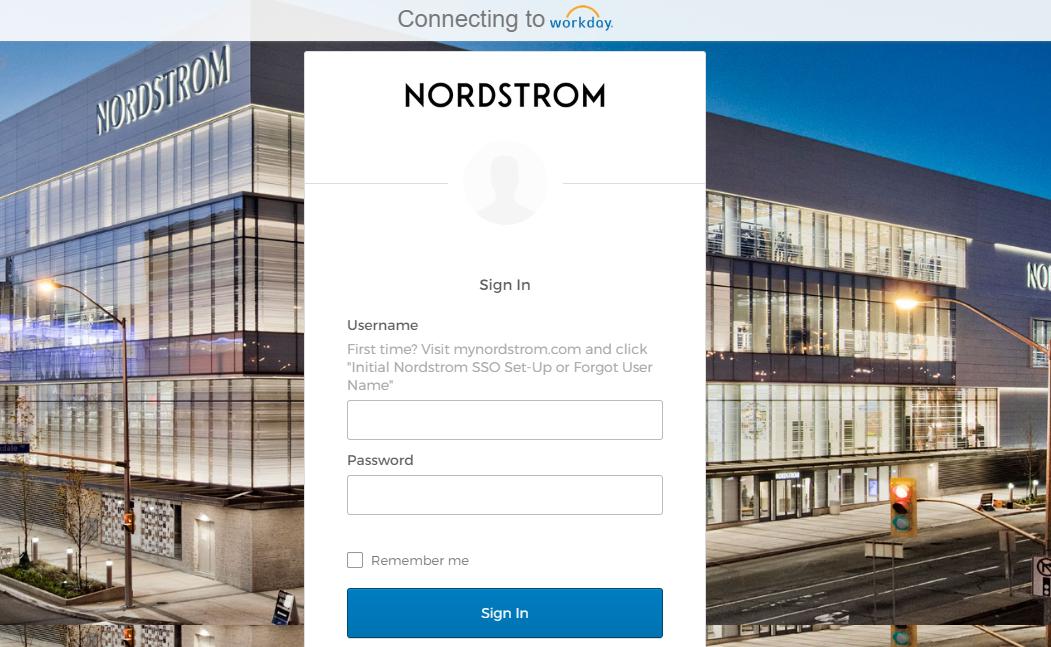 Nordstrom Employee portal login