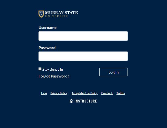 https://murraystate.instructure.com/login