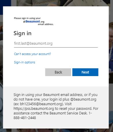 beamount employee portal