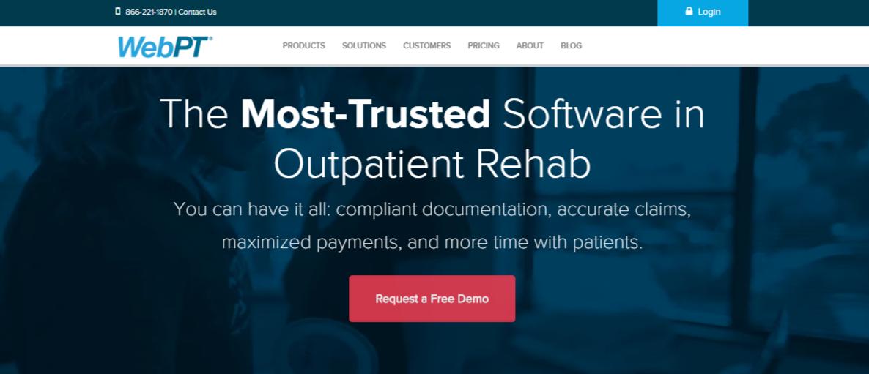 WebPt Patient Login