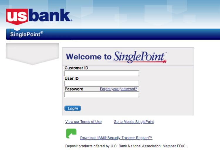 singlepoint login portal