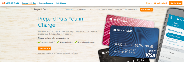 Netspend Prepaid Card Sign in