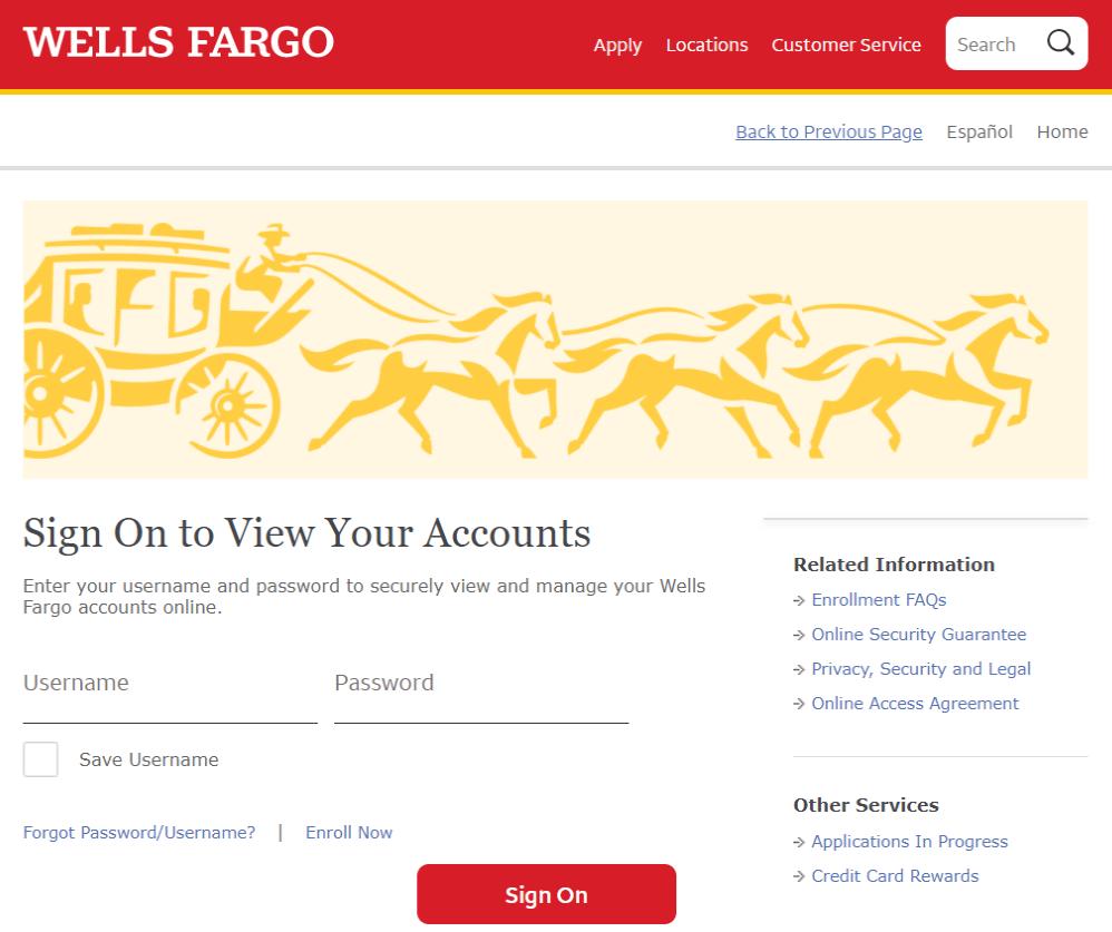 Wells fargo credit card activate