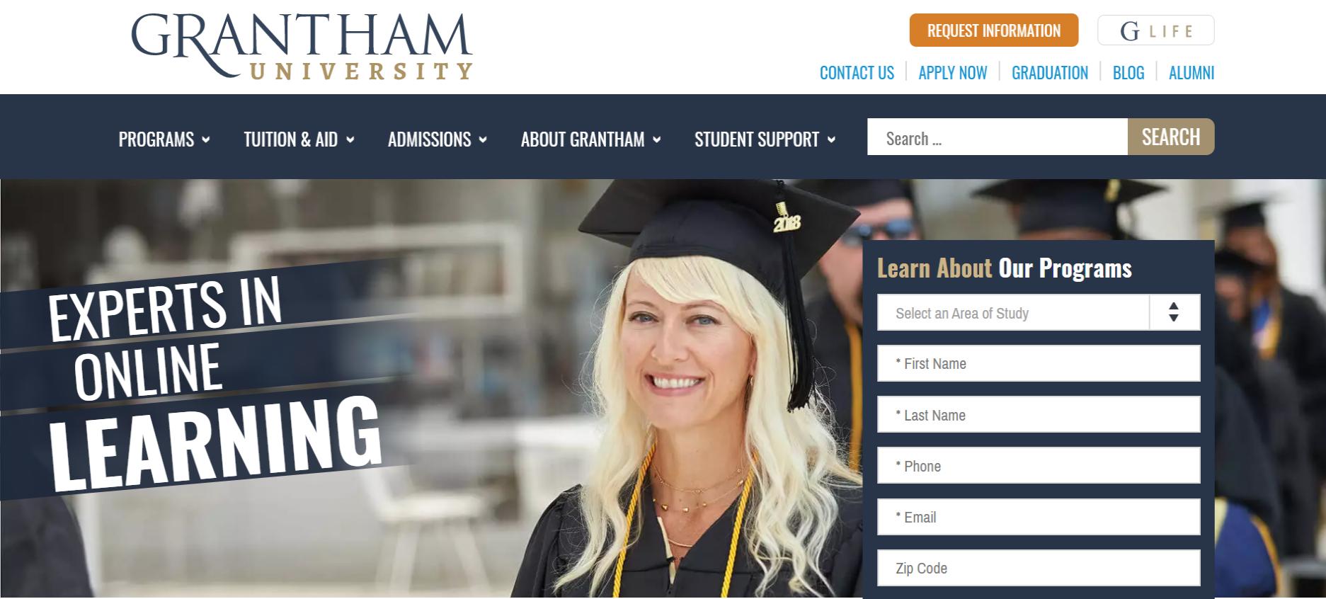 Grantham University Student Portal