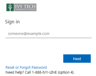 Ivy tech canvas login