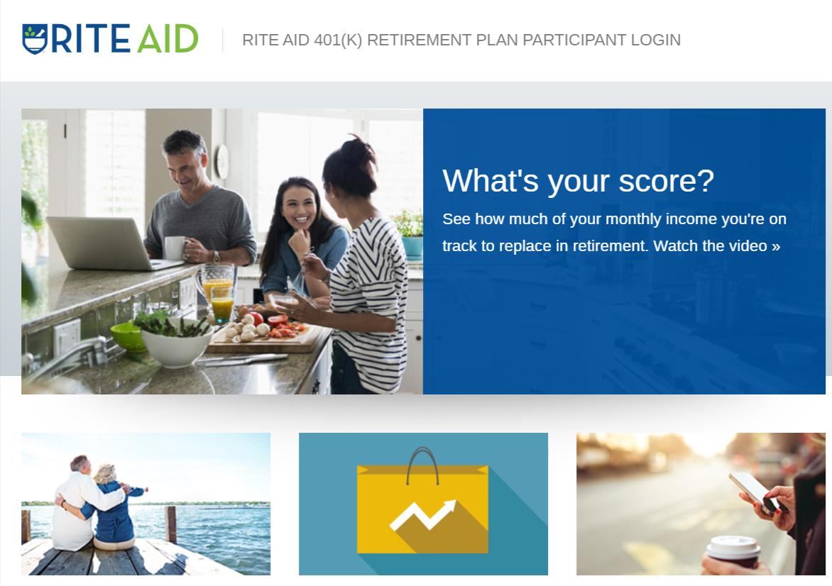 Rite Aid 401 k Account