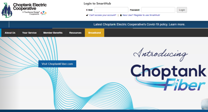 Choptank Electric Login