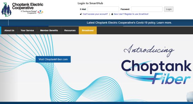 Choptank Electric Login
