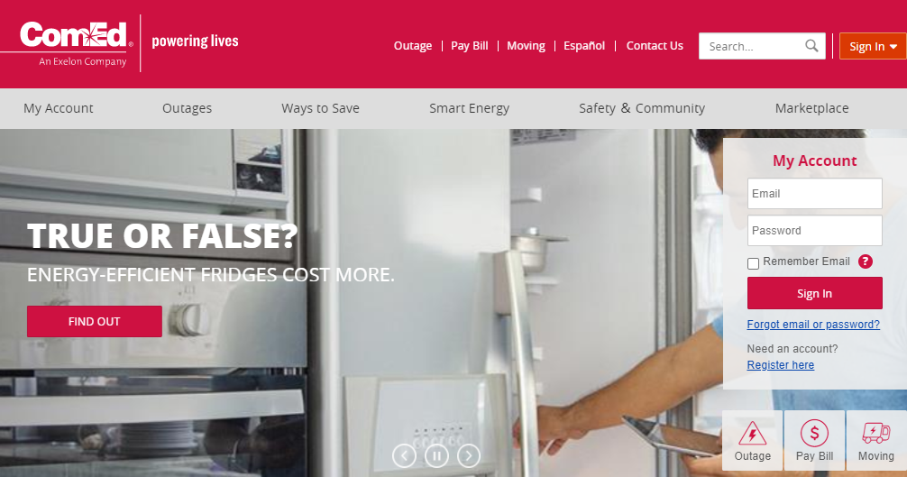 comed bill pay by phone