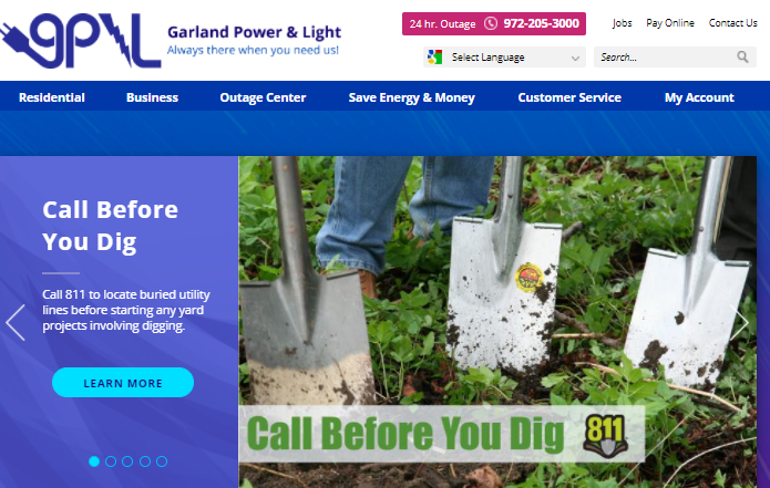 Garland Utilities Bill Pay