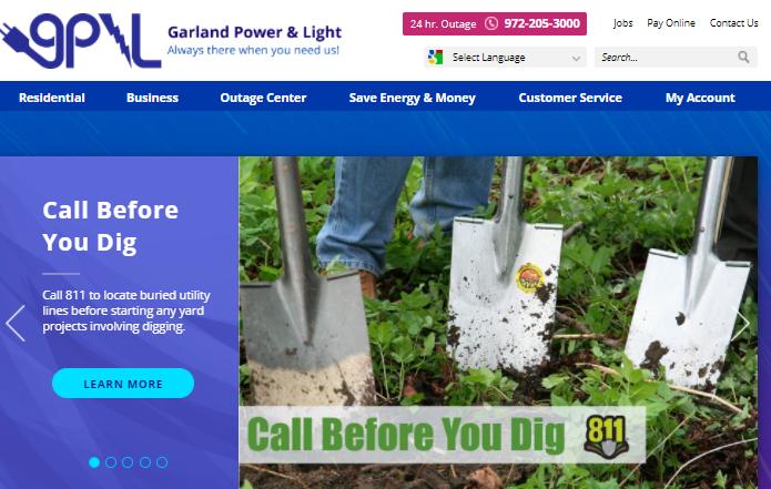 Garland Utilities Bill Pay