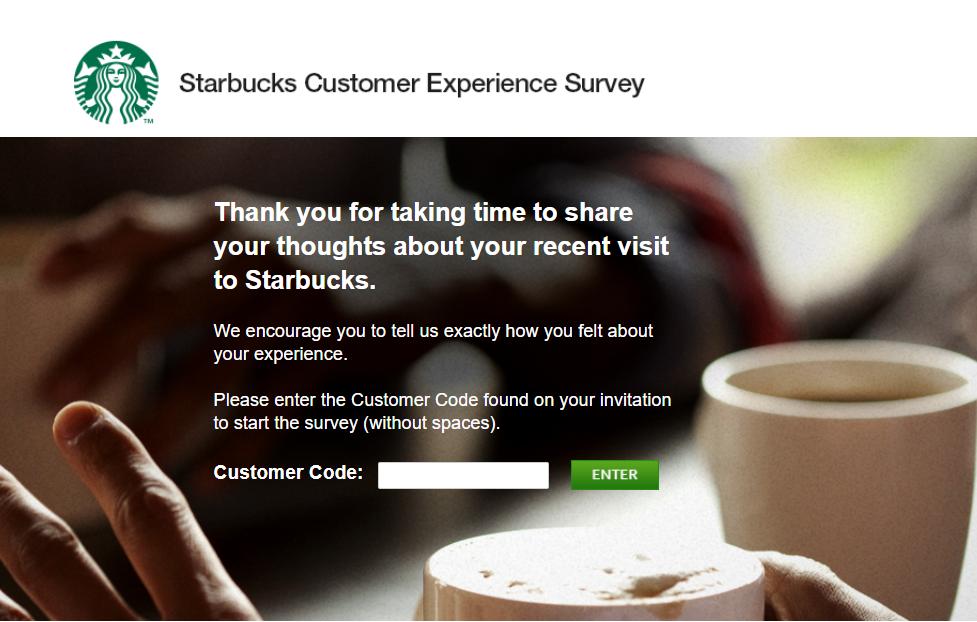 Starbucks Survey