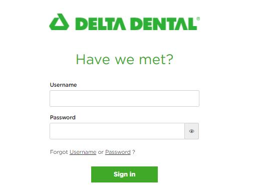 Delta Dental Bill Pay