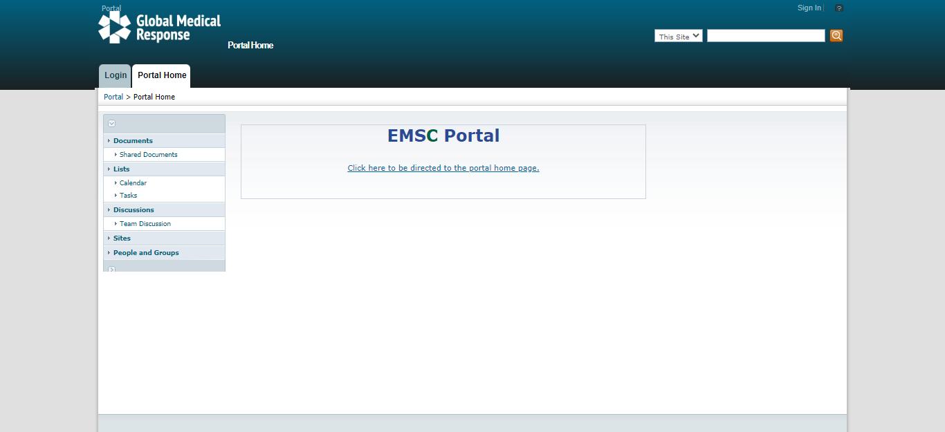 American Medical Response (AMR) Employee Portal